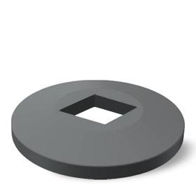 Kruhový nárazník - 49G095 35x35-7011 - zvìtšit obrázek